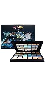 Klara Cosmetics Bondi 24 eyeshadow palette product image