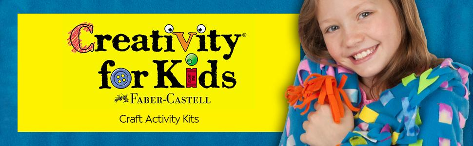 ef88aaa59 good Creativity for Kids Deluxe Easy Weave Fleece Blanket Making Kit -  Makes 1 No Sew
