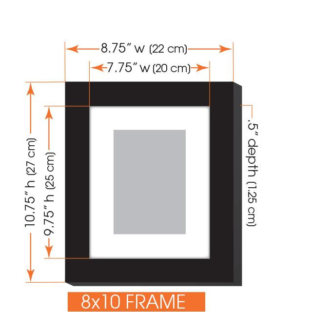 Gallery perfect 5 piece white wood photo frame for Picture hanging template kit