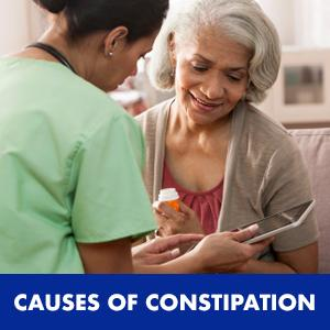 Constipation, or irregularity, is a condition in which stools pass more slowly than usual through the bowels (intestines). This slowing causes too much ...