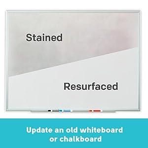 update an old whiteboard or chalkboard