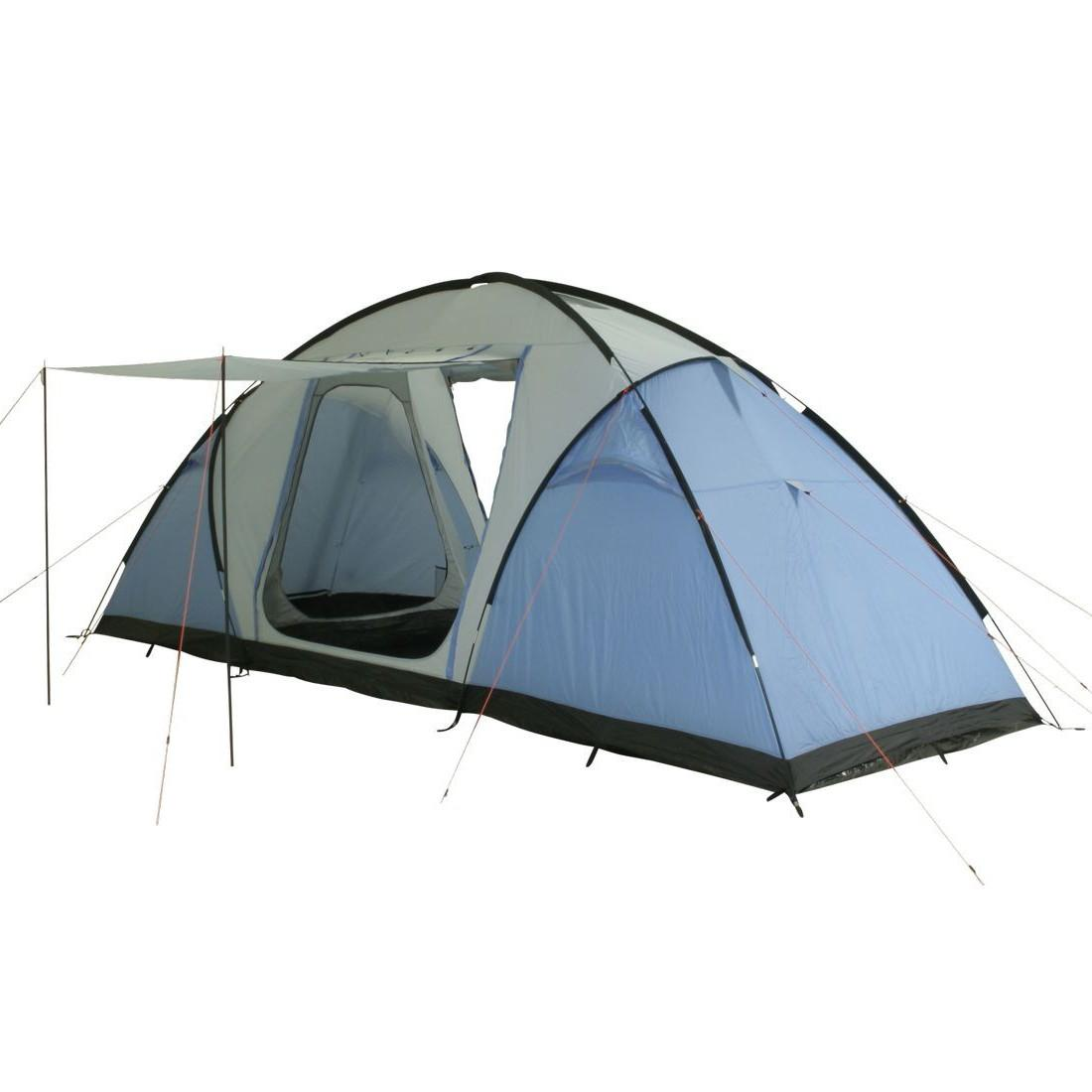 Zelt Weston 4 : T camping zelt weston vis a tunnelzelt mit