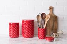 nested containers,food storage, tea storage, coffee storage