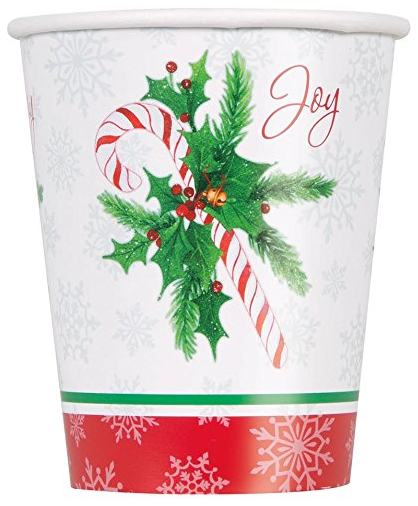 Candy Cane Christmas Oval Paper Plates 8ct · Red Beverage Napkins 20ct · 9oz Candy Cane Christmas Party Cups 8ct · 12oz Red Paper Cups 10ct ...  sc 1 st  Amazon.com & Amazon.com: Candy Cane Christmas Oval Paper Plates 8ct: Kitchen ...