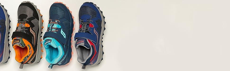 Saucony Kids' Peregrine Shield 2 aC Sneaker