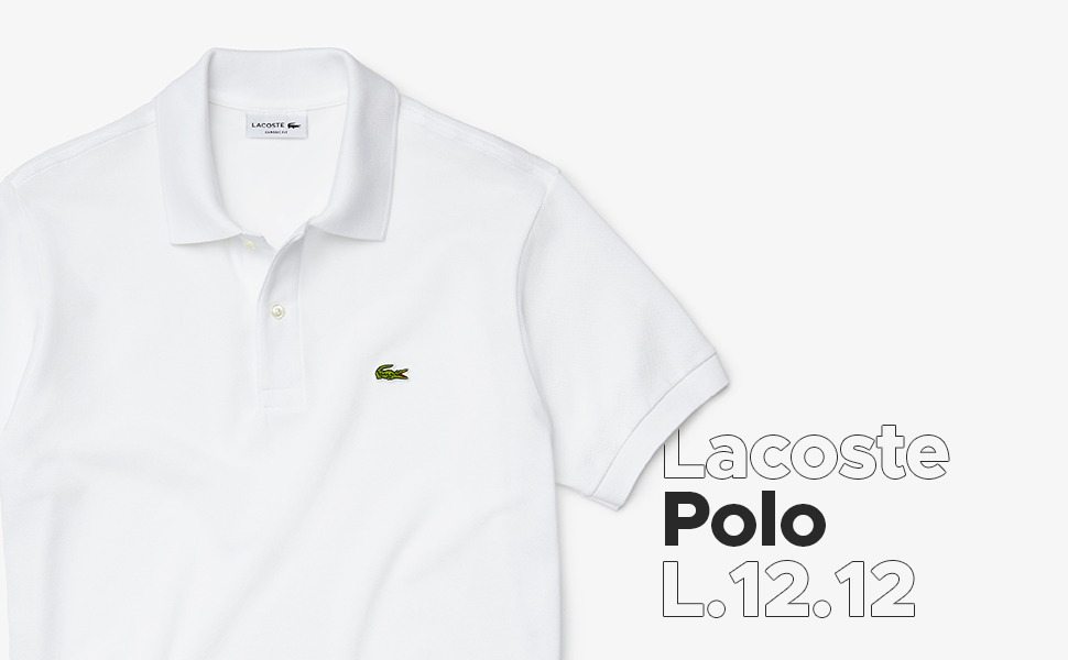Polo Lacoste Classic L.12.12 a manica lunga