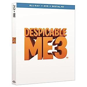 Despicable Me 3 (DVD + digital download) [2017]: Amazon.co.uk ...