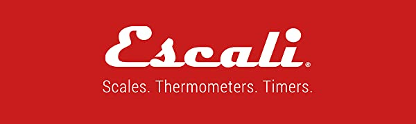 Escali. Scales. Thermometers, Timers.