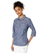 Half Zip Popover Shirt