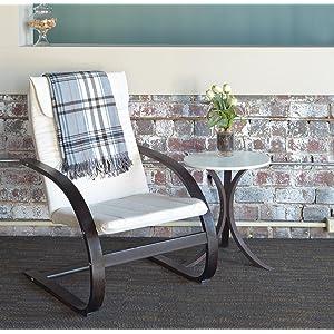 regency, niche, mia, poang, lounge chair, mocha walnut, beige, brick wall, side table,