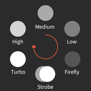 Diverse lighting modes