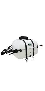 broadcast spraying, spot sprayer, swath, boomless, atv,utv, lawn, field, spot spray, 12v, trailer