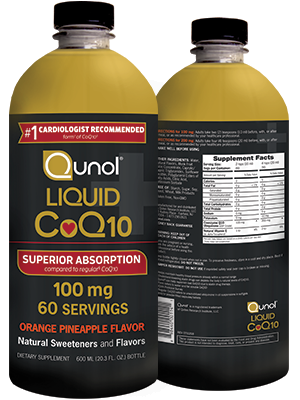 Liquid CoQ10 q10 100mg Ubiquinol Qunol Ubiquinone