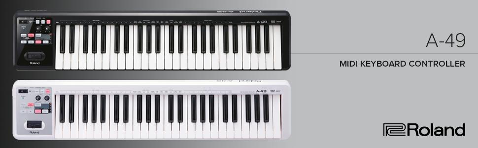 Roland; Roland keyboard; A-49; midi controller; home studio