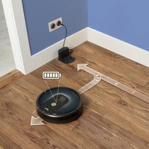 iRobot Roomba 981 ładowanie i wznawianie sprzątania