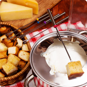 cheese fondue forks