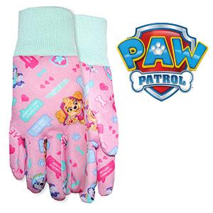 paw patrol girl, nickelodean, garden glove, toddler, toys