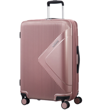 modern dream; american tourister; suitcase; spinner m; medium; check-in; rose; pink