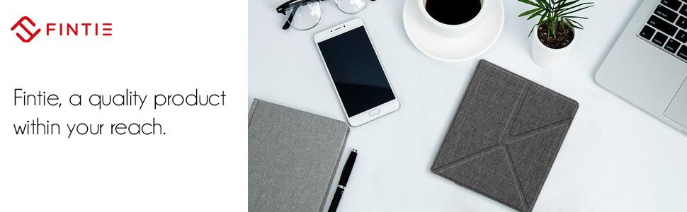 Funda para Kindle 10/ª generaci/ón 2019 Color Blanco A2-Orchid UGOcase Piel sint/ética, funci/ón Atril, funci/ón de Encendido y Apagado autom/ático