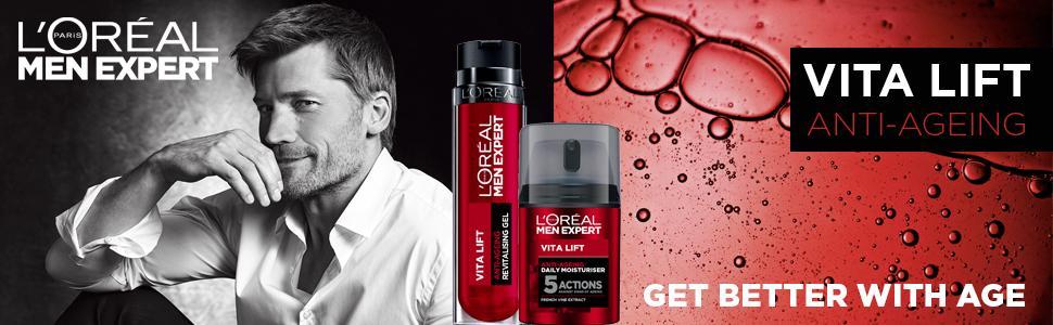 anti-età, rughe, anti-rughe, idratante, cura della pelle, uomini, toelettatura, vita lift, vitalift
