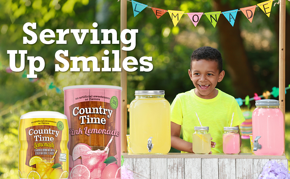 lemonade stand country time