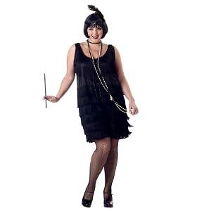 California Costumes Women\'s Fashion Flapper Plus Size Costume