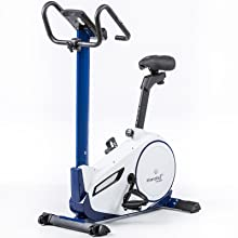 skandika Ergometer Morpheus, Fitness Bike, estática con Bluetooth ...