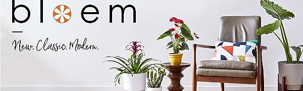 Bloem Planters Indoor Outdoor Garden Patio Planters Pots Saucers