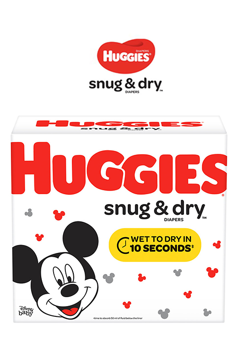 Huggies Snug & Dry Disposable Diapers