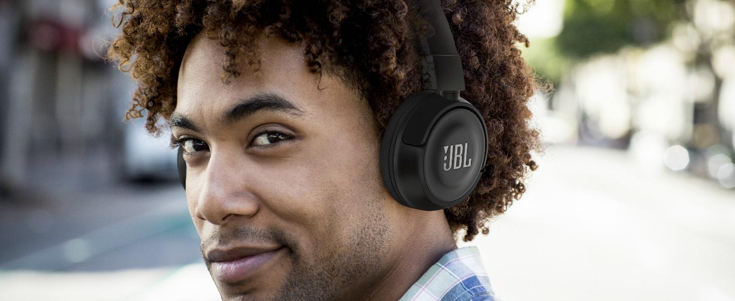 JBL T450 On Ear Wireless Headphones Black