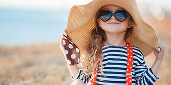 Safe &Gentle anti-sun protection for your child's delicate skin