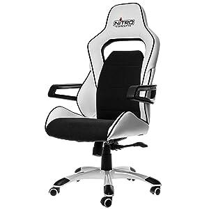 Nitro Gaming Schwarz Weiß Stuhl Concepts E220 Evo Y7fb6gy