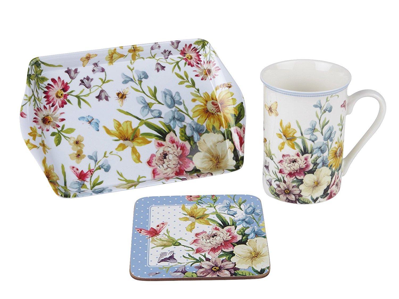"Katie Alice ""English Garden"" Fine China 'Time For Tea' 3"