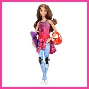 Amazon.es: Barbie Movimiento sin límites - Muñeca Patinadora: Juguetes y juegos