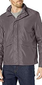 Open Bottom Trucker Packable Rain Jacket