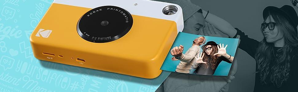 Kodak Instant Photo Camera Drucker