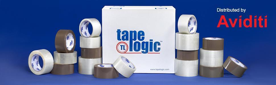 1.9 Mil 2 x 55 yds 36//Case Tan Tape Logic #700 Economy Tape