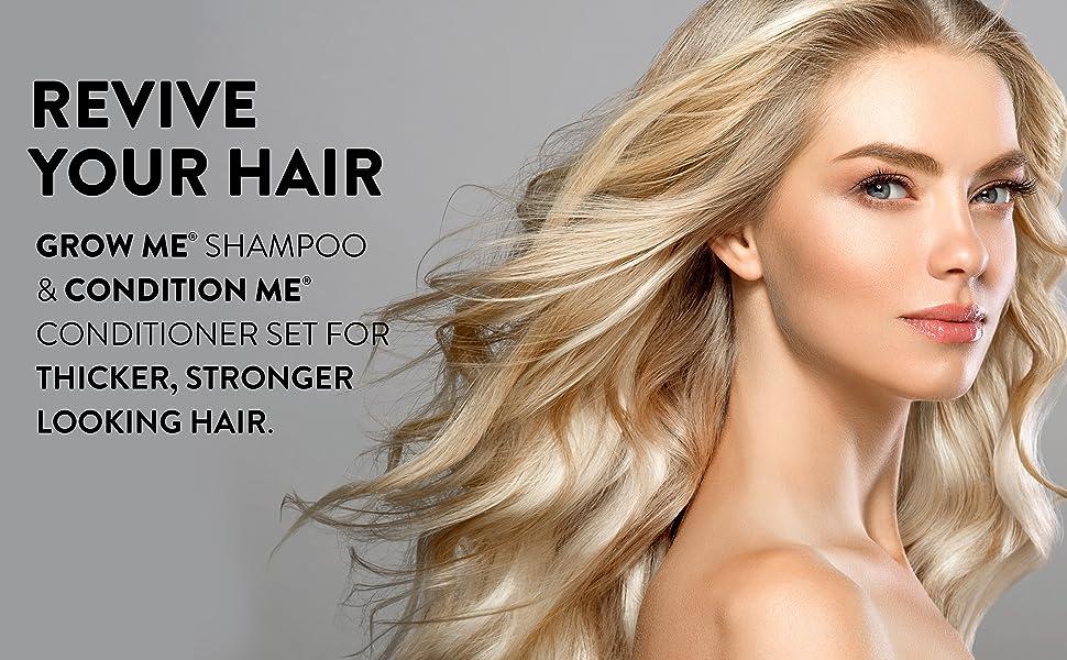 schampo & balsam, schampo, balsam, friskt hår, hårtillväxtsset, återuppliva mitt hår, hår