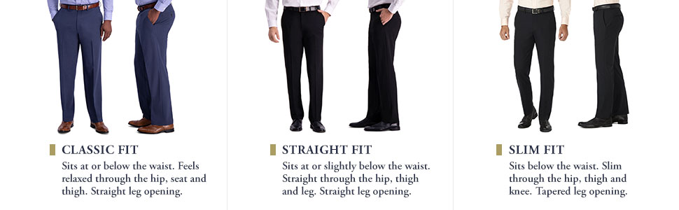 JM Haggar dress pants, JM Haggar 4 way stretch dress pants, Haggar dress pants, JM Haggar, stretch