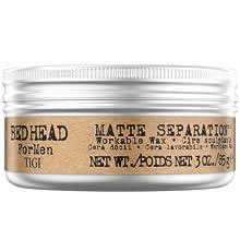 tigi bed head bedhead for men matte separation hair wax paste gel styling short hair definition