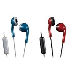 Jvc Ha F19m Ah E Earbuds Kopfhörer Mit Headsetfunktion Elektronik