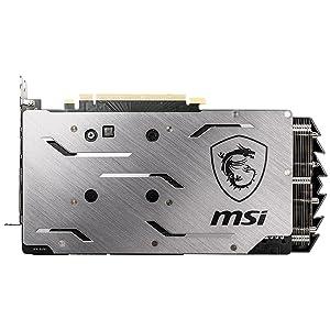 msi, geforce rtx 2060 super gaming x, brushed metal backplate
