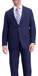 Classic fit jacket, Classic fit suit separate jacket, mens suit jacket, Active Series jacket, Haggar