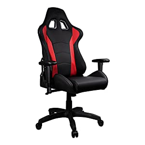 Caliber R1 Gaming Chair Red and Black