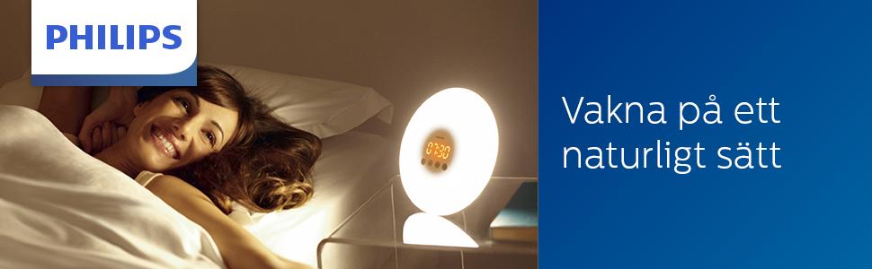 Wake-Up Light, hjälper dig vakna mer behagligt HF3500/01