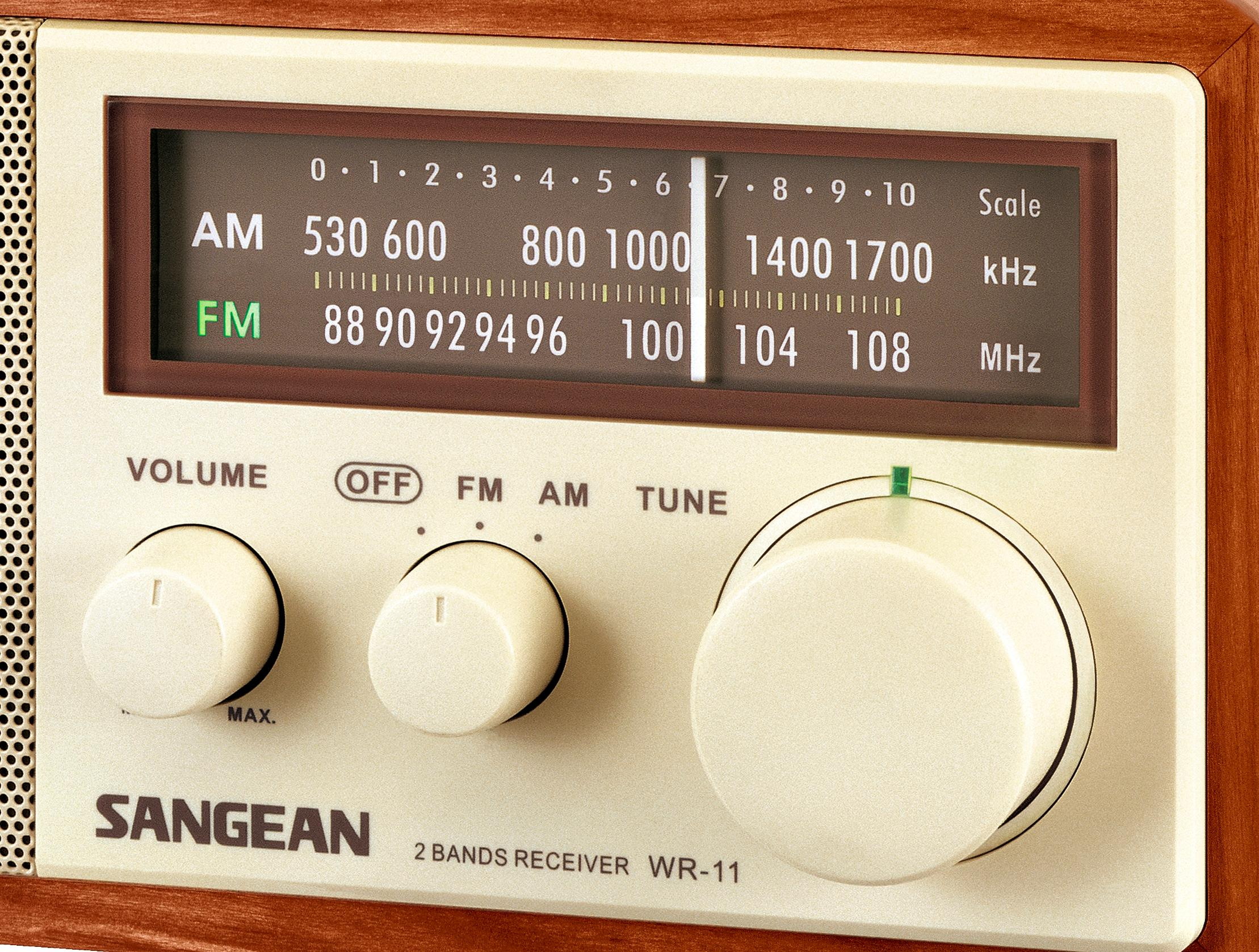 Sangean WR 11 AM FM Table Top Radio Amazon Electronics