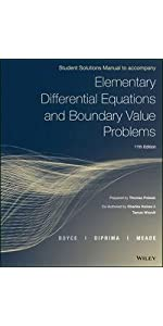 Elementary differential equations and boundary value problems 11th etextbook etextbook bundle print book wileyplus access bundle print book wileyplus access solution manual fandeluxe Gallery