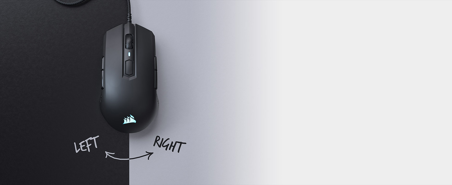M55 RGB PRO Ambidextrous Multi-Grip Gaming Mouse