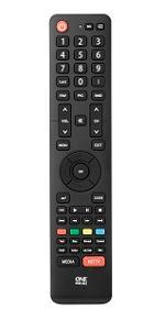 One For All URC1916 - Mando a Distancia de reemplazo para Televisores Hisense – Control Remoto Universal para Todo Tipo de TVs de la Marca Hisense: Amazon.es: Electrónica