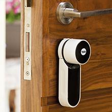 yale, smart door lock, yale ENTR, fingerprint reader
